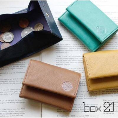 ボックス型小銭入れ コインケース box21 ボックス21 ポミエシリーズ 牛革 本革 財布 ミニマム 0332115【ゆうパケット対応】