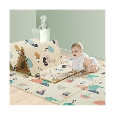 【並行輸入品】Teerwere Washable Children's Play mat Kids Carpet Game Mat Rug Life Learn and Have Fun Safely Kids Baby Play Mat Bedroo