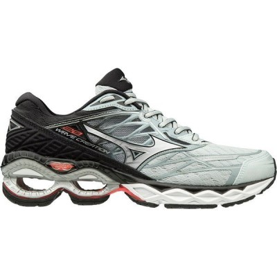 ミズノ スニーカー シューズ レディース Mizuno Women's Wave Creation 20 Running Shoes Sky Gray/Silver