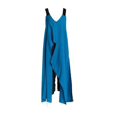 マルニ MARNI 7分丈ワンピース・ドレス アジュールブルー 40 バージンウール 60% / レーヨン 36% / キュプラ 4% 7分丈ワンピ