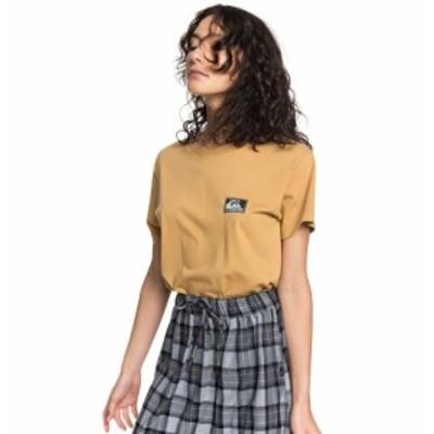 20%OFF セール SALE Quiksilver クイックシルバー ウィメンズ Tシャツ 半袖 Standard Fit ORIGINALS LABEL STANDARD TEE SS デザイン フ