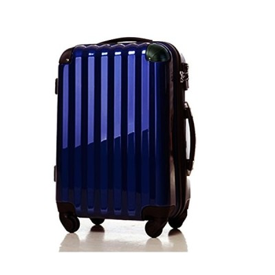 スーツケース 機内持ち込み可・超軽量・小型・Sサイズ・TSAロック ・キャリーバック・ネイビー 6202 (ネイビー)