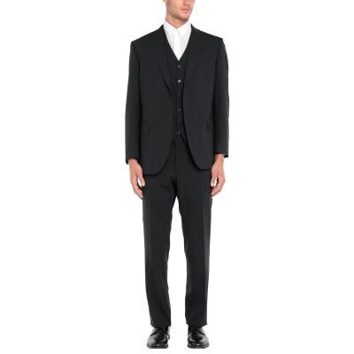 LUIGI BIANCHI Mantova スーツ ダークブルー 52 バージンウール 98% / ポリウレタン 2% スーツ