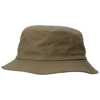 マムート アウトドアウェア ハット  メンズ Mammut Bucket Hat olive 4072 MM-1191-00620-4072