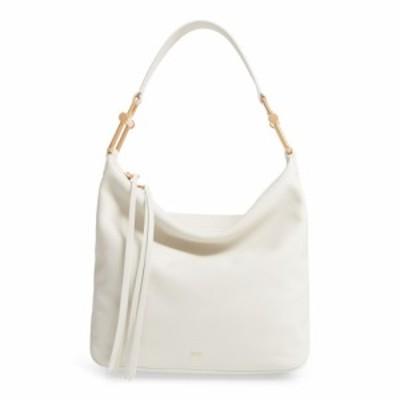 ヒューゴ ボス BOSS レディース ショルダーバッグ バッグ Small Kristin Leather Hobo Open White