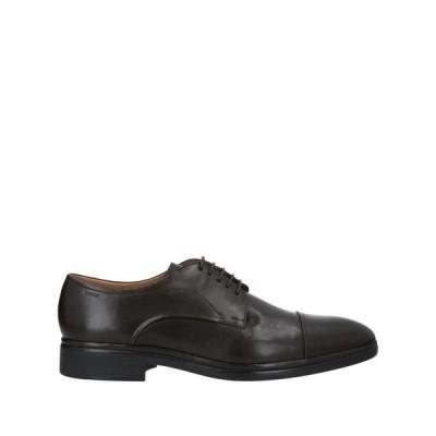 BALLY バリー レースアップシューズ  メンズファッション  メンズシューズ、紳士靴  その他メンズシューズ、紳士靴 ダークブラウン