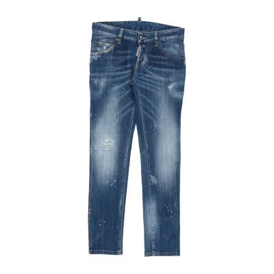 ディースクエアード DSQUARED2 ジーンズ ブルー 10 コットン 98% / ポリウレタン 2% ジーンズ