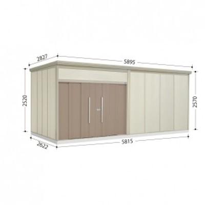 物置 屋外 おしゃれ タクボ物置 JN/トールマン JN-5826 一般型 標準屋根 カーボンブラウン