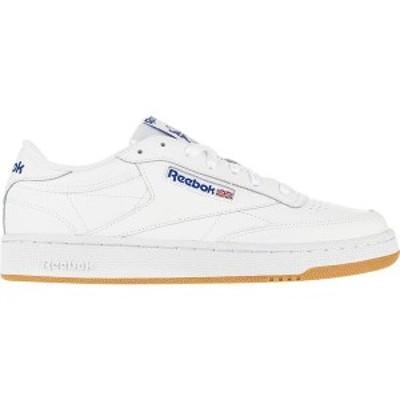 リーボック メンズ スニーカー シューズ Club C 85 Sneaker Int-White/Royal-Gum