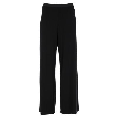 MARTA STUDIO パンツ ブラック 40 レーヨン 90% / ポリウレタン 10% パンツ