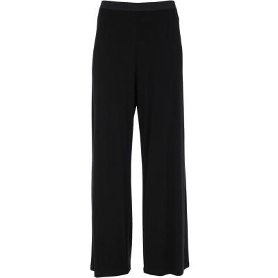 MARTA STUDIO パンツ ブラック 44 レーヨン 90% / ポリウレタン 10% パンツ