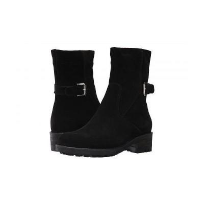 La Canadienne ラカナディアン レディース 女性用 シューズ 靴 ブーツ アンクルブーツ ショート Camilla - Black Suede