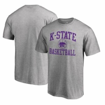 Fanatics Branded ファナティクス ブランド スポーツ用品  Fanatics Branded Kansas State Wildcats Heathered Gray In Bounds T-Shirt