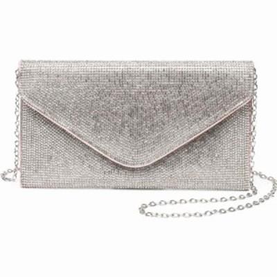 ファッションラボ Fashion Lab レディース クラッチバッグ バッグ envelope bling clutch Rose Gold