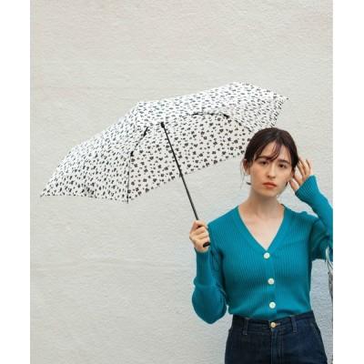 SETUP7 / 【because】スーパーライト 折りたたみ傘 レオパード柄/花柄/フラワー WOMEN ファッション雑貨 > 折りたたみ傘