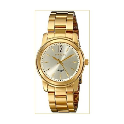 Invicta Women's 17420 Angel Analog Display Swiss Quartz Gold Watch 並行輸入品