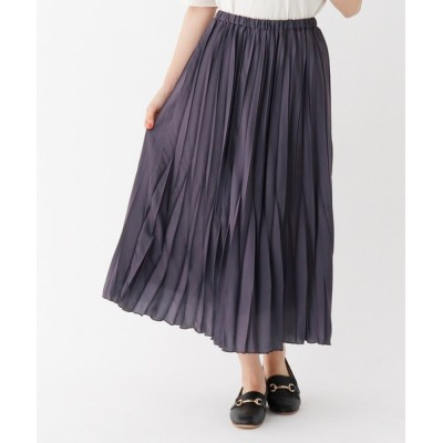 THE SHOP TK / サテンプリーツスカート/ONSTYLE WOMEN スカート > スカート