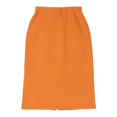 ユアーズ ur's ストレッチタイトスカート (オレンジ)