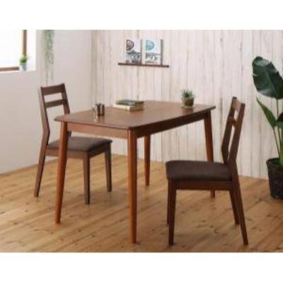 ダイニングテーブルセット 2人用 椅子 一人暮らし コンパクト 小さめ ワンルーム おしゃれ 安い 北欧 食卓 3点 ( 机+チェア2脚 ) 幅115