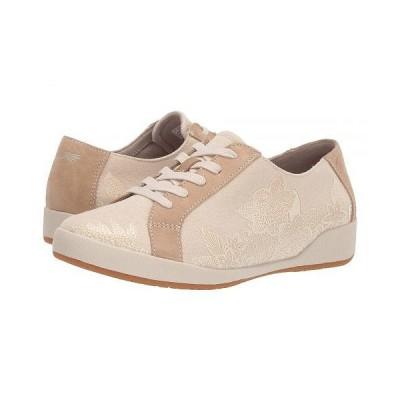 Dansko ダンスコ レディース 女性用 シューズ 靴 スニーカー 運動靴 Olisa - Sand Printed Canvas