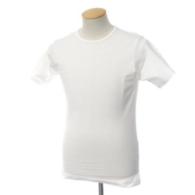 サンスペル SUNSPEL コットン 半袖Tシャツ 2枚セット ホワイト XS