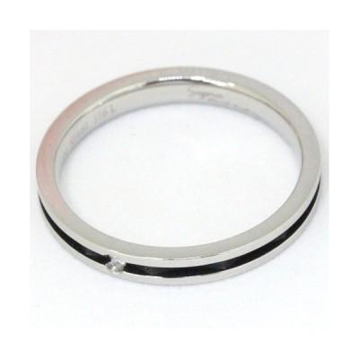 Pure 金属アレルギー対応 ノンアレルギー ステンレス316L ダイヤモンド ペア リング PMS-022-13(l-4966423514882)
