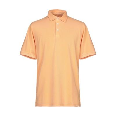FEDELI ポロシャツ あんず色 52 コットン 100% ポロシャツ