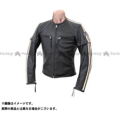 KADOYA K'S LEATHER No.1154 SELECT SLEEVER-PL レザージャケット カラー:ブラック×アイボリー サイズ:M…