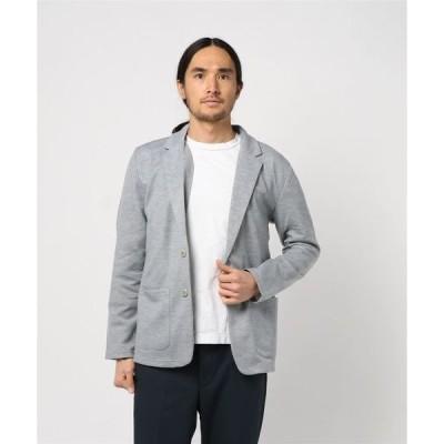 ジャケット テーラードジャケット ポンチ素材ストレッチカット2つボタンテーラードジャケット