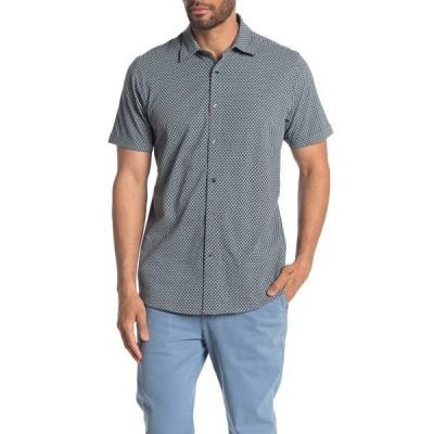 コースタオロ メンズ シャツ トップス Diamonte Short Sleeve Jersey Shirt BLUE