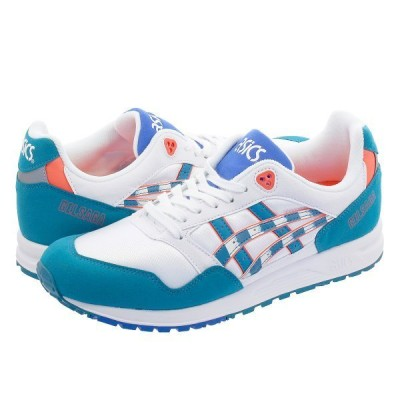 ASICS Tiger GEL SAGA アシックス ゲル サーガ WHITE/TEAL BLUE 1191a153-100