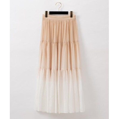 GRACE CONTINENTAL / タイダイティアードスカート WOMEN スカート > スカート
