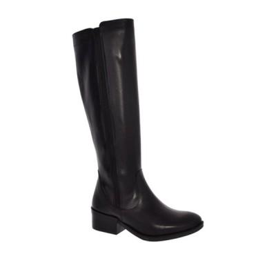 イタリアンシューメーカー レディース ブーツ&レインブーツ シューズ Alia Knee-High Boot BLACK