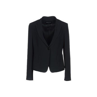 エンポリオ アルマーニ EMPORIO ARMANI テーラードジャケット ブラック 46 アセテート 73% / レーヨン 27% テーラードジャ