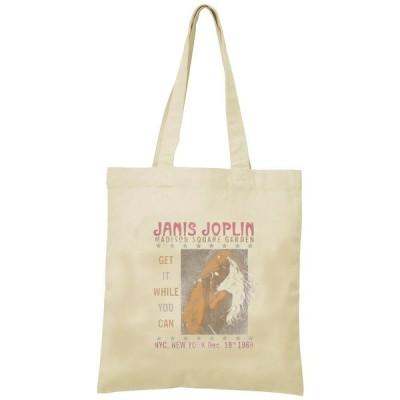 ジャニス・ジョプリン トートバッグ キャンバス 12oz 綿100% ナチュラル色 音楽 バンド シネマ 人物 B4サイズ