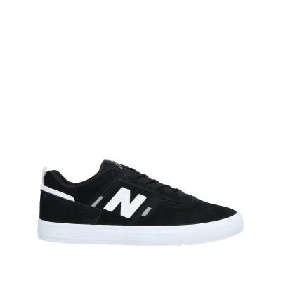 ニュー・バランス NEW BALANCE スニーカー&テニスシューズ(ローカット) ブラック 8 革 / 紡績繊維 スニーカー&テニスシューズ(ロー