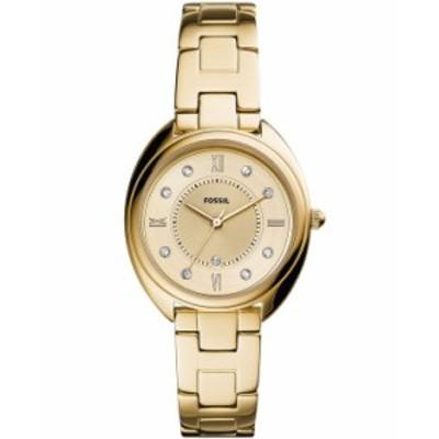 フォッシル レディース 腕時計 アクセサリー Women's Gabby Gold-Tone Stainless Steel Bracelet Watch 34mm Gold