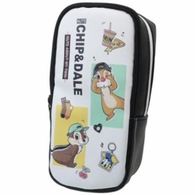 チップ&デール 筆箱 スタンド ペンケース コーデ ディズニー キャラクター グッズ