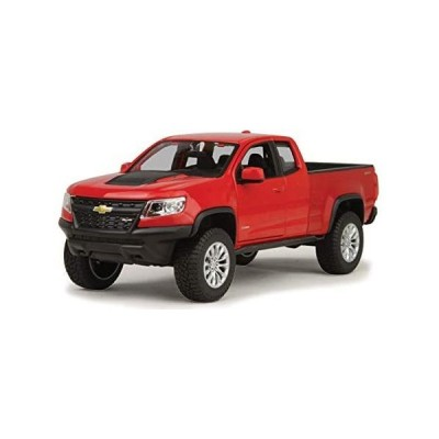 ミニカー・ 2017 Chevrolet Colorado ZR2 Pickup Truck Red 1/27 Diecast Model Car by Maisto 31517 輸入品