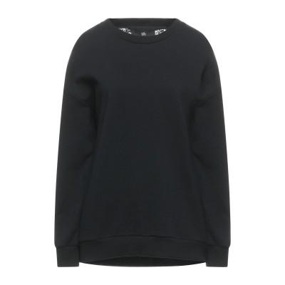 SH by SILVIAN HEACH スウェットシャツ ブラック M コットン 100% / ポリウレタン / ナイロン スウェットシャツ