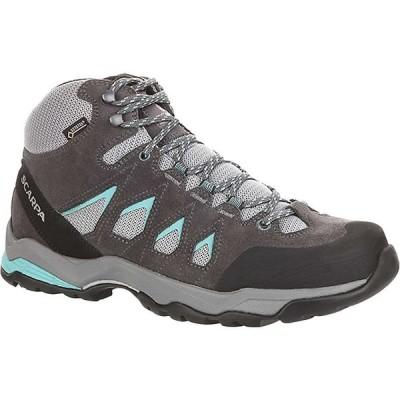スカルパ Scarpa レディース ハイキング・登山 ブーツ シューズ・靴 Moraine Mid GTX Boot Grey/Lagoon
