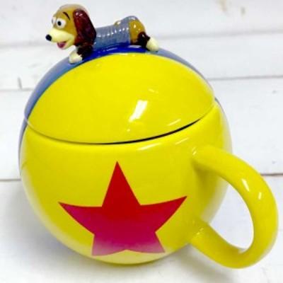 トイストーリー フィギュア付きマグ(ピクサーボール)スリンキードッグ ディズニー マグカップ コップ コーヒーカップ