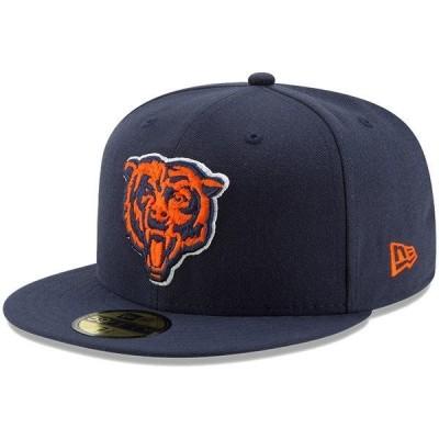 ニューエラ メンズ 帽子 アクセサリー Chicago Bears New Era Team Basic 59FIFTY Fitted Hat