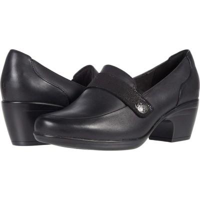 クラークス Clarks レディース シューズ・靴 Emily Andria Black Leather/Synthetic Combination