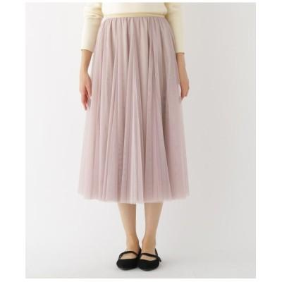 【Lサイズあり】チュールスカート