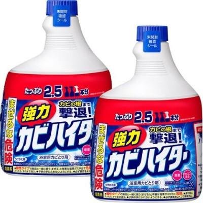 強力カビハイター お風呂用カビ取り剤 付け替え 特大 (1000ml*2本セット)