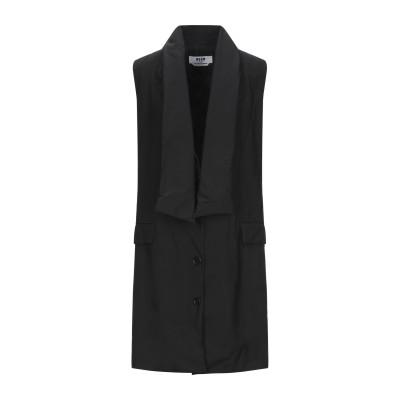 エムエスジーエム MSGM コート ブラック 38 バージンウール 100% コート