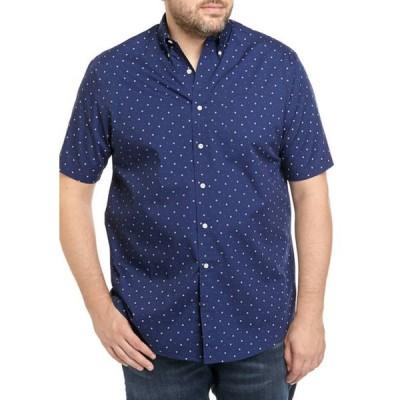 サドルブレッド メンズ シャツ トップス Big & Tall Short Sleeve Easy Care Classic Fit Shirt