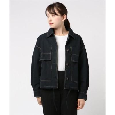 ジャケット ブルゾン WEGO VINTAGE/ステッチシャツジャケット