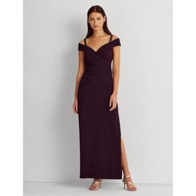 ラルフローレン レディース ワンピース トップス Embellished-Strap Off-The-Shoulder Gown